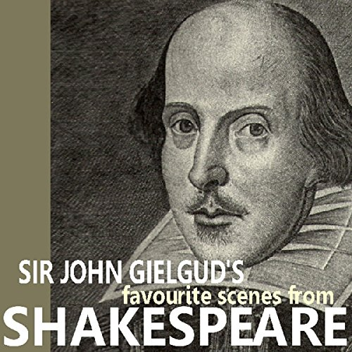 『Sir John Gielgud's Favourite Scenes from Shakespeare』のカバーアート