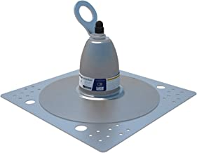 3M DBI-SALA 2100142 Roof Top Anchor for Bitumen Membrane and Built-Up Roofs with Weather Proofing Shroud, Silver