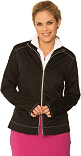 Chase54 Womens Glamour Lightweight Full Zip Jacket