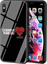 LBIAO 9H Tempered Glass iPhone XR Cases, LB-58 Greys Grey039;s Anatomy Design Printing Shockproof Anti-Scratch Soft Silicone TPU Cover Phone Case for Apple iPhone XR