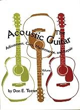 acoustic guitar maintenance and repair