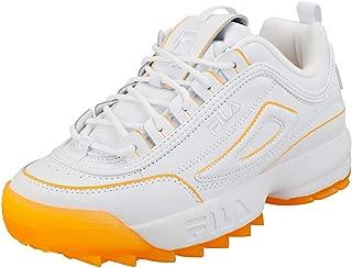 Fila Disruptor II Ice Womens White/Orange Pop Trainers