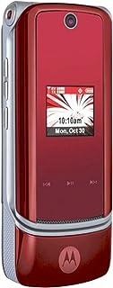 Motorola KRZR K1m No Contract 3G Camera Red CDMA Cell Phone Verizon Wireless