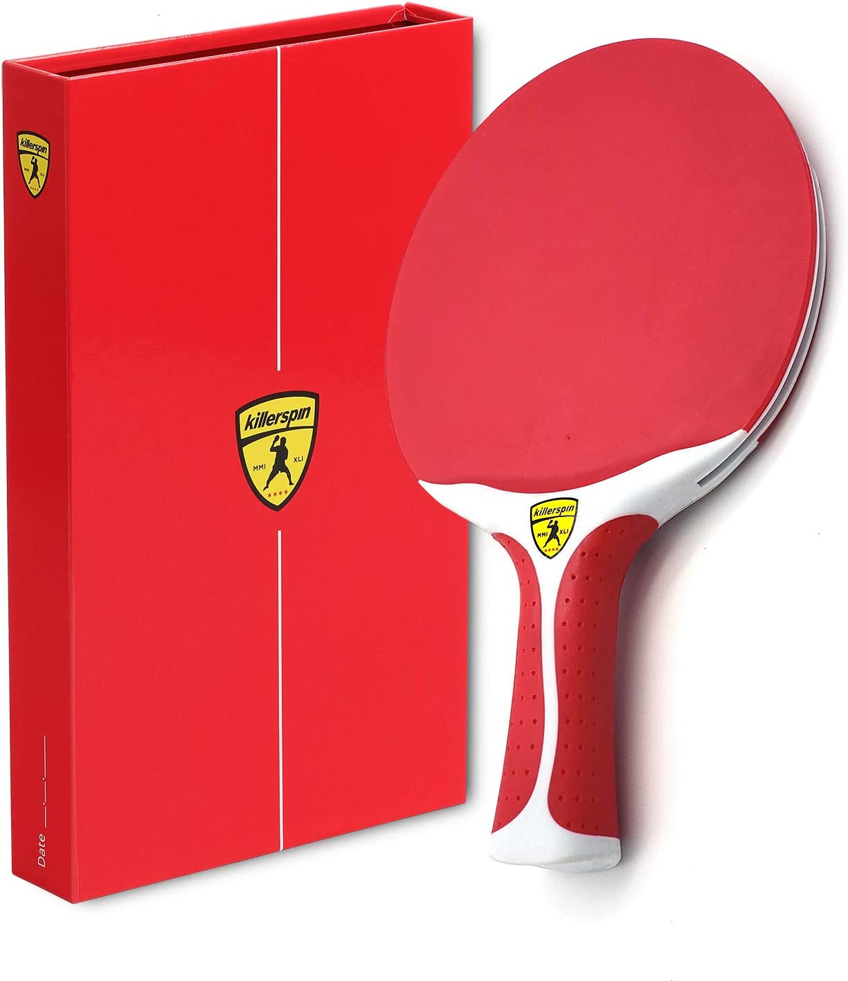 Killerspin Canvas Cherry Swirl 2021new shipping free Tennis Max 40% OFF Table Racket