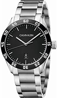 Calvin Klein Complete Swiss made Quartz Black Dial Men's Watch K9R31C41