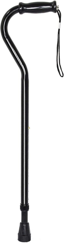McKesson Black Steel Offset 値引き Handle Cane 37.75
