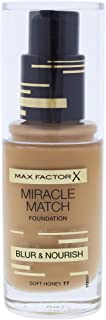 Max Factor Max Factor Miracle Match Foundation, Soft Honey 77