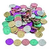 Fun Express 'I Was Caught Being Good!' Plastic Coins- Bulk (144 Piece) -Classroom Incentives-Teacher Supplies