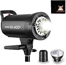 Godox SK400II 400Ws Flash estroboscópico de Estudio con Sistema 2.4 G Wireless X 150 W Modelado Lámpara