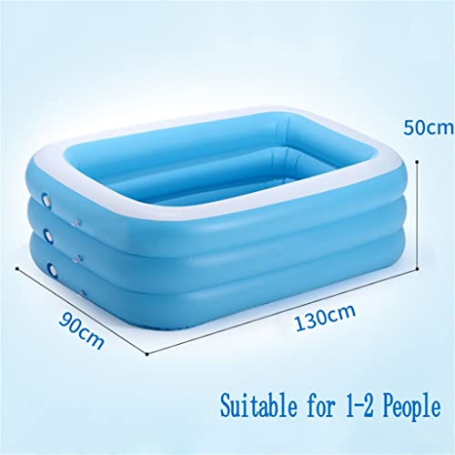 Baignoire Baignoire gonflable   Pool Pooling Pool Pool Pool Sea Ball pour enfant   bébé   famille avec pompe électrique Convient pour 1-2 personnes (130  90  50cm) Gonflable De Baignoire