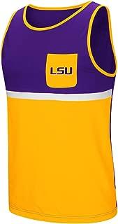 Colosseum LSU Tigers NCAA Sun's Out Men's Pocket Tank Top Shirt