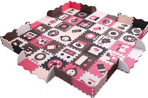 Der Kinderzaun-kriechende Schaum-Auflage, kriechende Mosaik-Matte, Hauptwohnzimmer-starke Schaum-Auflage 30  30  1.4cm