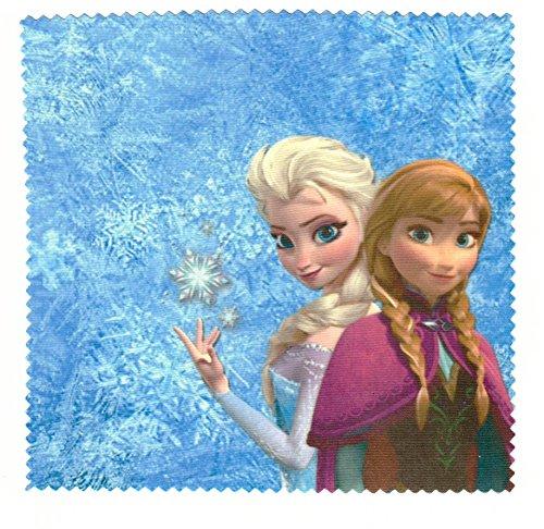 Microfasertuch zum Brille reinigen - Eiskönigin - Anna + Elsa | Brillenputztuch
