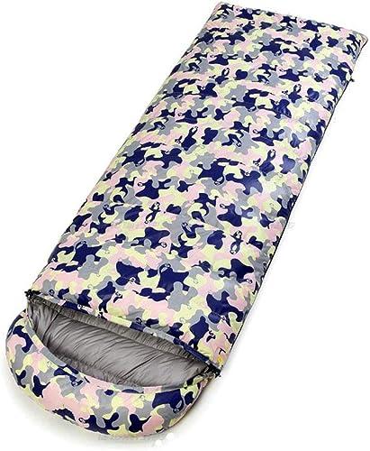 ZWYY Durable,ComfortableSac de Couchage, avec Sac de Compression Sommeil Sacs enveloppe Portable léger Sommeil Sac 4 Saison Camping randonnée Chaud Sac de Couchage,A,1500g