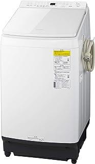 パナソニック 8.0kg 洗濯乾燥機 泡洗浄 液体洗剤・柔軟剤 自動投入 ホワイト NA-FW80K8-W