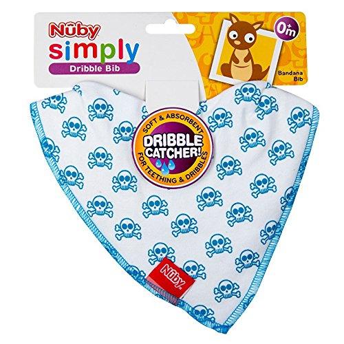 Nuby bébé Bavoirs Bandana Catcher allaitement Coton doux Bavoirs pour bébé Cadeau 0+m