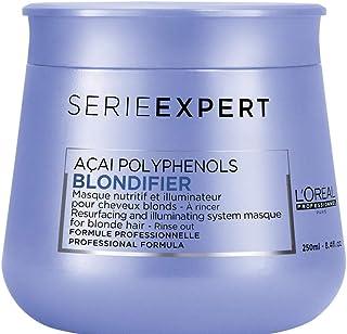 L'Oréal Professionnel Paris Serie Expert Blondifier Maske, schützende Haarkur für blondes & naturblondes Haar, verleiht Gl...