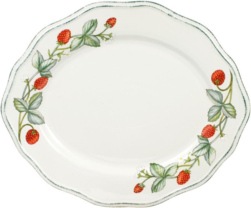 Pfaltzgraff Challenge the lowest price Strawberry Max 54% OFF Vine Platter Oval