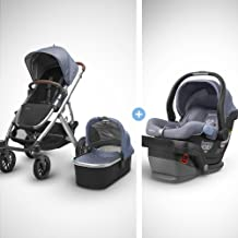 Best 2018 UPPABaby Vista Stroller - Henry (Blue Marl/Silver/Saddle Leather) + MESA- Henry (Blue Marl) Merino Wool Version Review