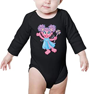 OEEIMG Long Sleeve Convenient Baby Onesies Outfits Cute for Toddler