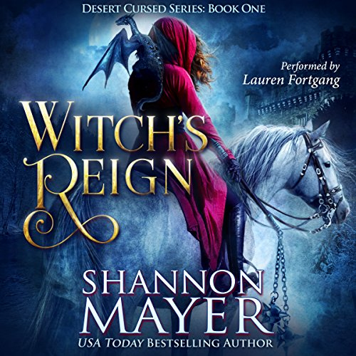 Witch's Reign audiobook cover art