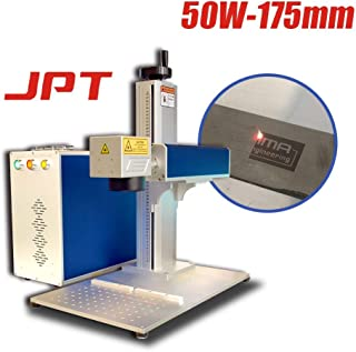 50W Fiber Laser Engraving Machine,JPT Fiber Laser Marking Machine,175×175mm (6.9×6.9in)