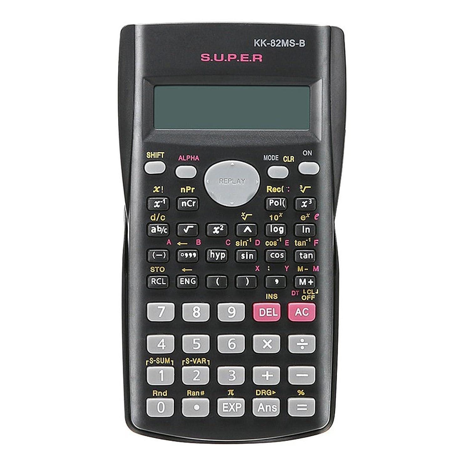 権威ちょうつがいインシデントzmart 2行表示 関数電卓 82MS 多機能 科学 数学 教育用
