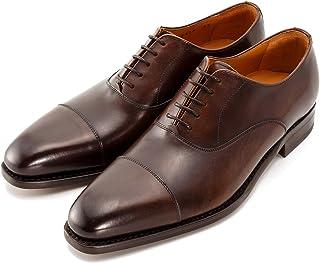 [Berwick] バーウィック ストレートチップ 内羽根 紳士靴 革靴 メンズ ダークブラウン 2428 レザーソール TOREDカーフ素材 グットイャー製法 スペイン製