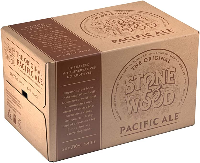 Stone & Wood Pacific Ale Stubbie 330mL (Case of 24)