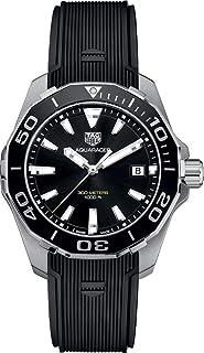 Aquaracer Black Dial Men's Watch WAY111A.FT6151