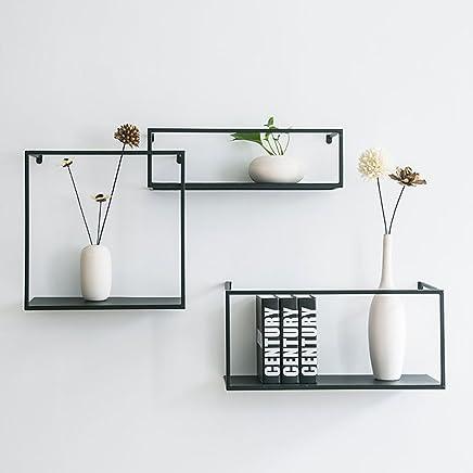 Porta Mensole Ikea.Amazon It Mensole Ikea Yuan Fu Mensole Da Muro Porta