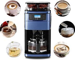 Cafetera Goteo Máquina de Café con Temporizador Cafetera de Filtro Reutilizable y Función de Mantener Caliente