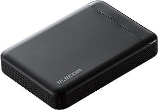 エレコム HDD 外付けハードディスク 2TB ビデオカメラから直接保存 衝撃吸収インナーフレーム ELP-EDV020UBK