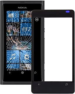 Practical Convenient Spare Parts Compatible with Nokia Lumia 800 Front Screen Outer Glass Lens Replacement Parts
