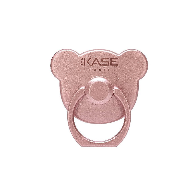 登録下着計算する【The Kase/ケース】Metallic Little Bear Ring Smartphone Holder & Stand スマホ リングホルダー&スタンド リトルベアー ローズゴールド 38914111