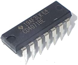 Texas Instruments CD4071BE CD4071 CMOS Quad 2-Input OR Gate Breadboard-Friendly (Pack of 10)