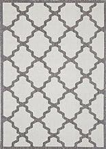 Home Culture Patio Diamond Grey Indoor/Outdoor Rug, 120x170cm