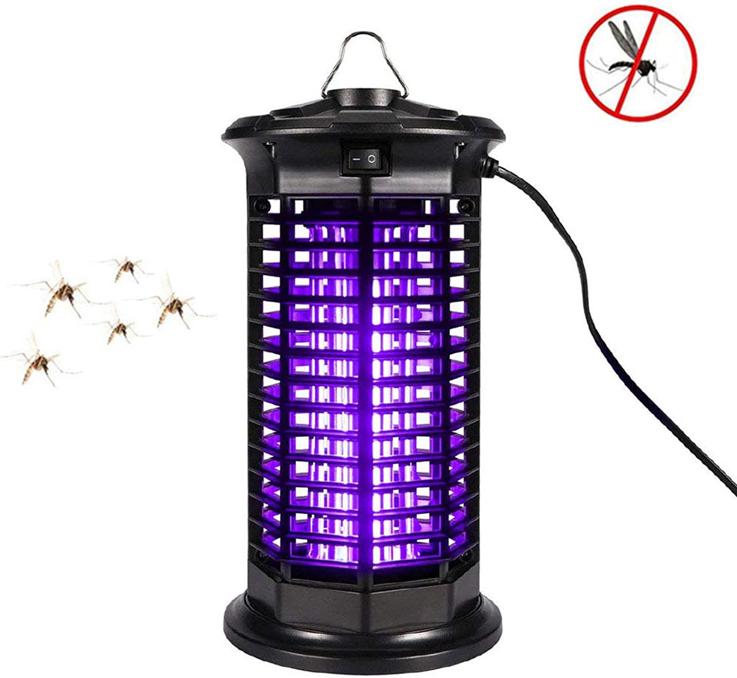 Fly Mosquito Killer,Electric Bug Zapper  Insect Eliminator or Flying Bug Trap Weather Resistant Electronic Lamp for Indoor and Outdoor