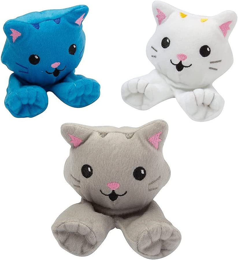 P.O. Peraonline 12 Piece Stuffed Puppets Cat OFFicial mail order Import Walking