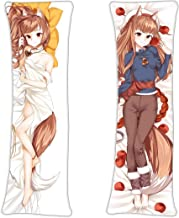 Holo Horo - Spice & Wolf Okami to Koshinryo Anime Hugging Pillow Case Cover Gifts 59in x 19.6in Long Pillow Case Japanese ...