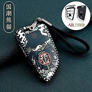 Key Case for Car - Leather Car Key Cover Case for 5 7 series G11 G12 G30 G31 G32 i8 I12 I15 G01 X3 G02 X4 G05 X5 G07 X7 (A...