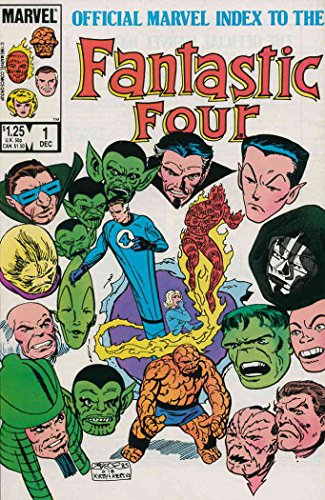 Official Marvel Index to the Fantastic Four #1 VF/NM ; Marvel comic book