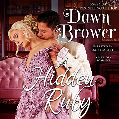 A Hidden Ruby audiobook cover art
