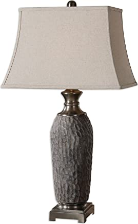 Uttermost 26442 Tricarico Textured Lamp by Uttermost