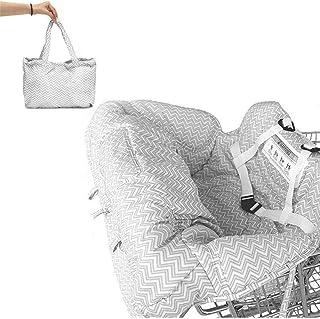 Funda protectora para carrito de la compra para bebé, universal, para trona y cesta de la compra, con bolsa de transporte