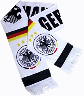 Soccer Jacquard Scarf-2014 FIFA World Cup Brazil Various Country Badge Logo Scarf (Germany)