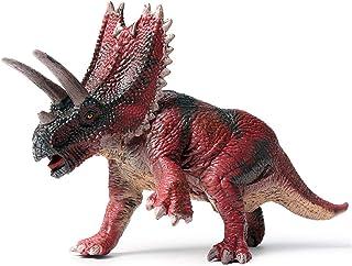Eden Toys ペンタケラトプス 角竜類 キッズ 孫 誕生日 恐竜 プラモデル 模型 大人 プレゼント リアル フィギュア PVC おもちゃ 32cm級 塗装済 完成品 インテリア 置物