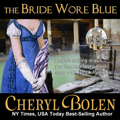 The Bride Wore Blue audiobook cover art