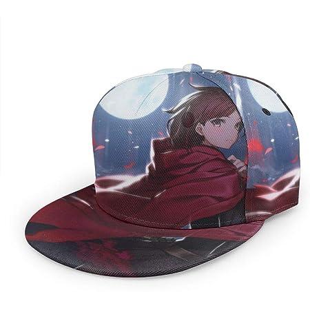 Sublimated All Over Print Hat Flat Adjustable Bill Baseball Hip Hop Cap Halistran Yu Yu Hakusho Men Women Anime Popular Snapback Hats