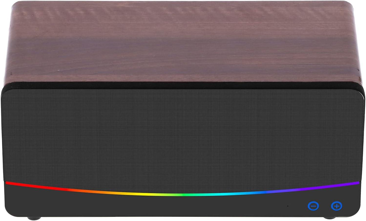 Max 80% OFF Lazmin112 Wooden Over item handling ☆ Bookshelf Bluetooth Speaker Desktop Loudspeaker